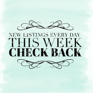 New Listngs Every Day This Week!